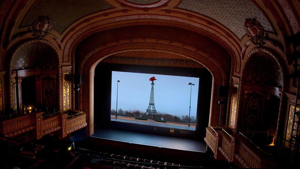 Installation view, Paramount Theatre Austin