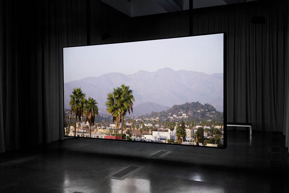 Installation view, LACMA, Los Angeles County Museum of Art