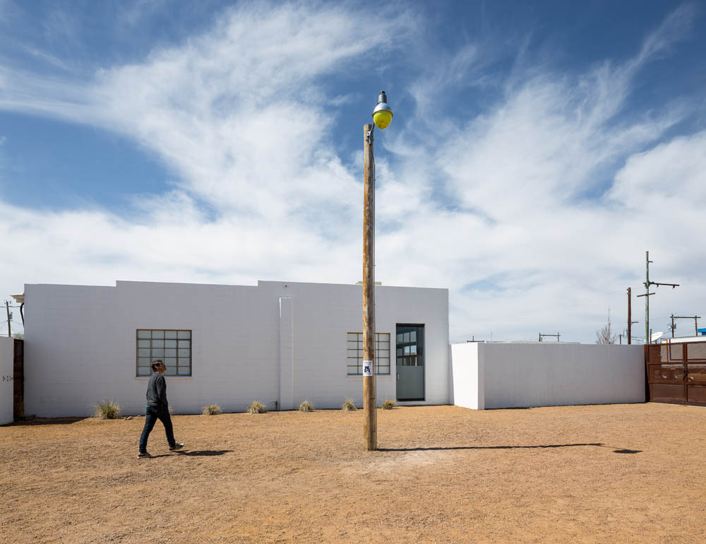Missing Truffaut 2014, Installation view. Sound Speed Marker, Ballroom Marfa, 2014. Photo: Frederik Nilsen