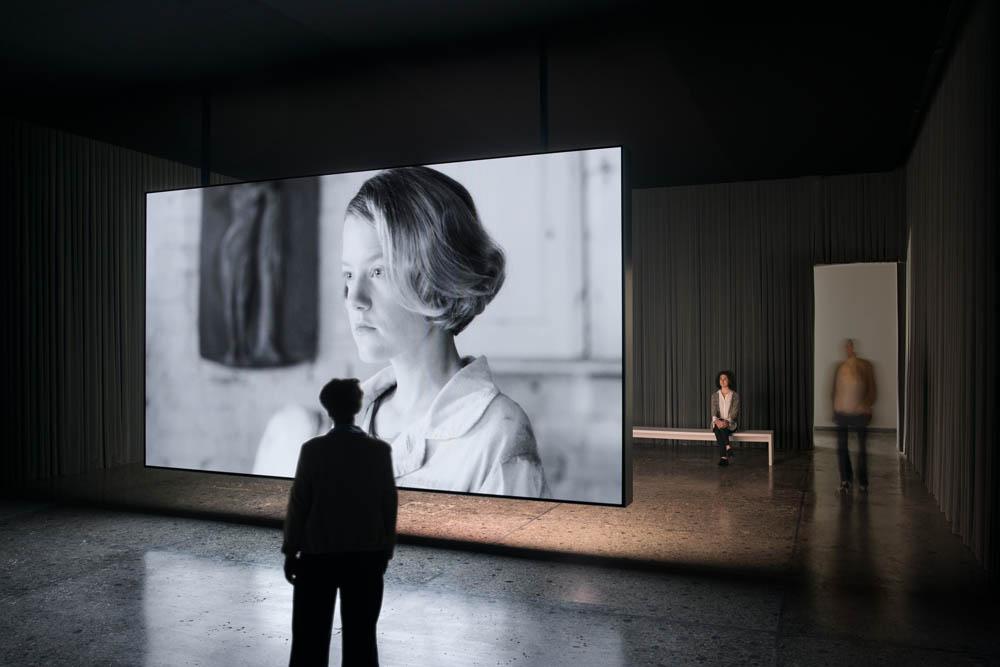 Installation view, Swiss Pavillion, 57th Venice BiennialPhoto: Ugo Carmeni
