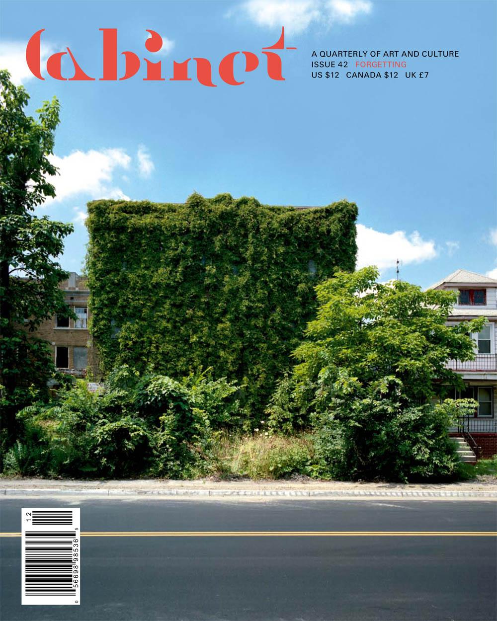 Cabinet Magazine #42 Cover
