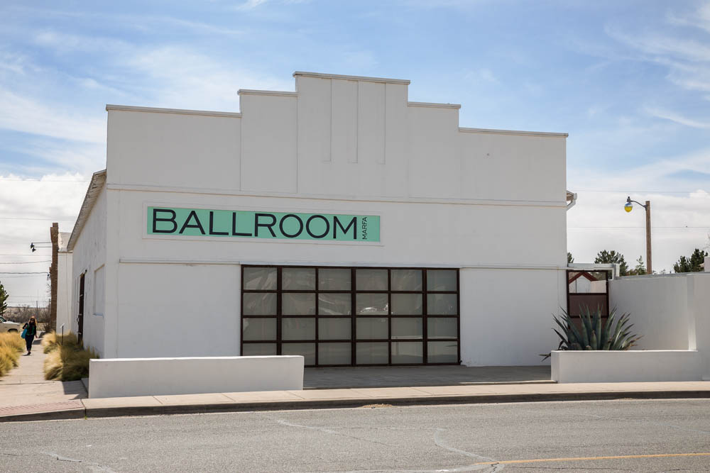 Installation view, Ballroom Marfa Photo: Frederik Nilsen